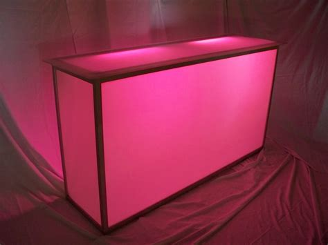 light up bar equipment rental prices lighting furniture tables