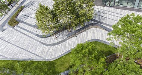 granite floor patterns pier 4 waterfront plaza mikyoung design landscape
