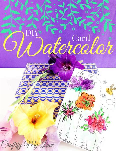 Maybe you would like to learn more about one of these? Make easy DIY Watercolor Cards | Craftify My Love