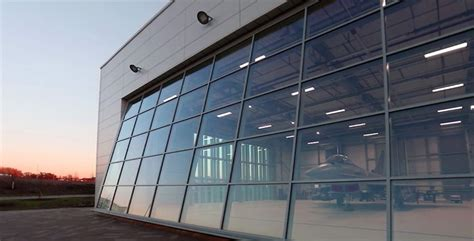 hydroswing europe hydraulic hangar doors agriculture