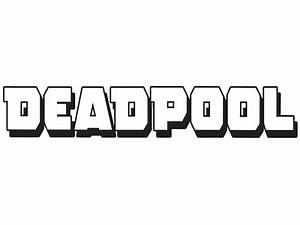 Black And White Deadpool Decal Pictures to Pin on ...