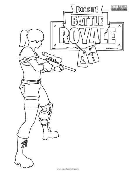 Fortnite Battle Royale Coloring Page | FORTNITE en 2019