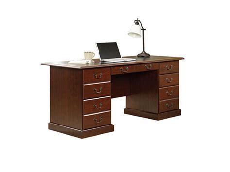 Sauder Heritage Hill Executive Desk Classic Cherry by Sauder 402159 Heritage Hill Executive Desk In Classic