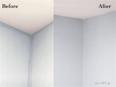 uneven wall paint color    fix  diy wall