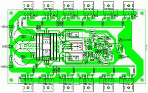 500w Audio Amplifier Circuit Diagram Pcb - 500w Rms Power Amplifier Pcb Design And Layout