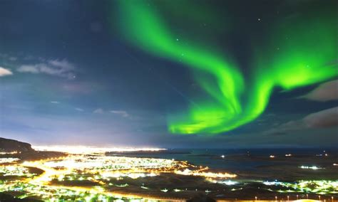 northern lights deals groupon reykjavik with flights and tour at kpx travel groupon
