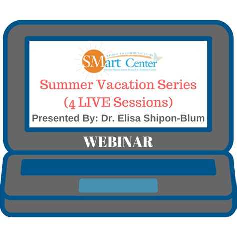 LIVE Webinar: Summer Vacation Series part 1 of 4