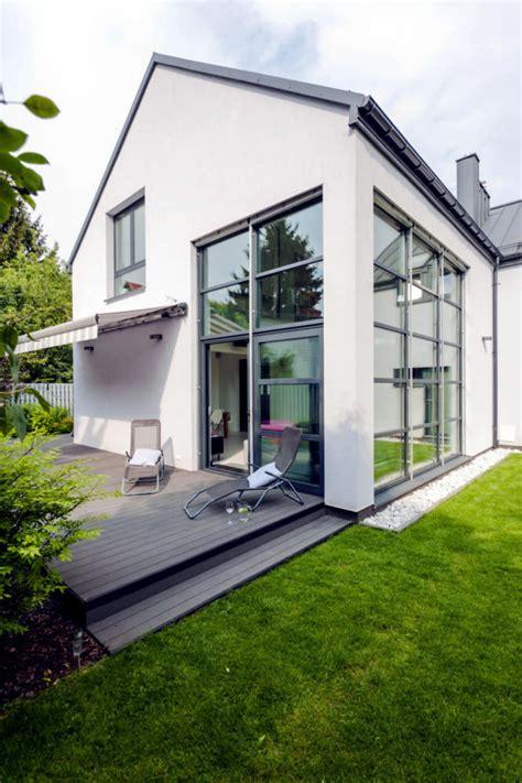 white house  tall windows interior design ideas