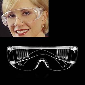 New Work Safety Glasses Clear Eye Protection Wear ...