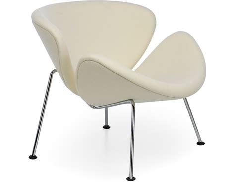 paulin orange slice chair hivemodern
