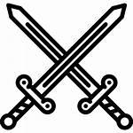 Sword Duel Icon Fantasy Fairy Icons Tale