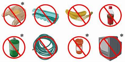 Recycling Items Accepted Plastic Waste Bags Program