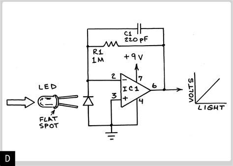 How Use Leds Detect Light Make