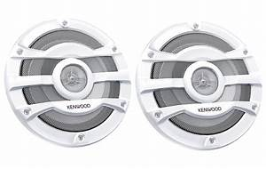Kenwood Boat Bluetooth Cd Radio  Remote 8 U0026quot  Speakers  Wire