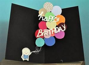 Pop Up Karte Basteln Geburtstag : geburtstagskarte selber basteln pop up oder aufklappkarte mit anleitung ~ Frokenaadalensverden.com Haus und Dekorationen