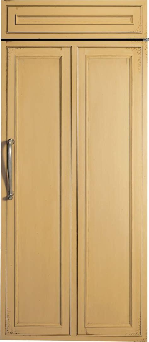 monogram  cu ft custom panel built   freezer zifnnrh acceptance appliance