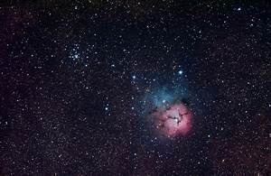M20 The Triffid Nebula - featured in Sky & Space article ...