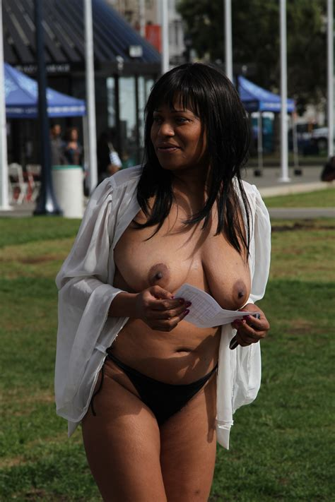 Protest Porn Pic From Black Woman Protesting Naked In Public Sex Image Gallery