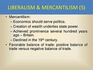 Favorable Balance Of Trade Political Science 7 International Relations Power