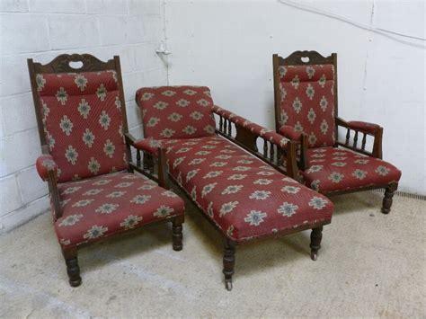 chaise longue salon antique antique edwardian noveau salon suite