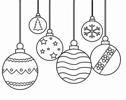 Coloring Christmas Pages Ornament Ornaments Printable Adults