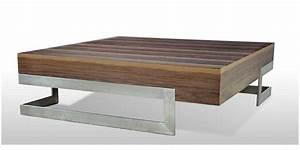 Table Basse En Bois Flotté : coti design antalia bois acier tables basses sur easylounge ~ Preciouscoupons.com Idées de Décoration