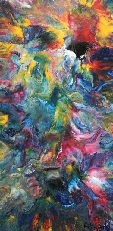 """""""from Above And Below"""", Abstract Art By Eric Siebenthal"""
