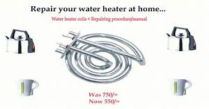 Repair Your Water Heater At Home    We