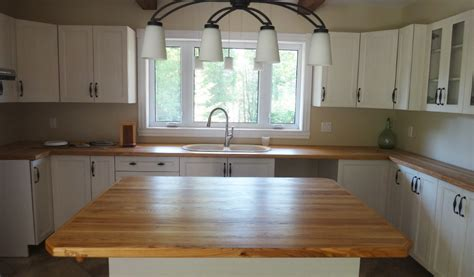 fabriquer un comptoir de cuisine en bois comptoirs de cuisine en bois les planches à découper pic