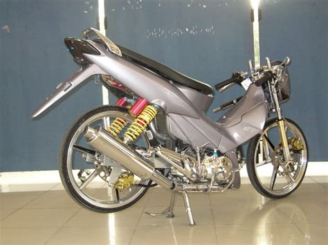 Modifikasi Motor Supra X by Tabloid Motor 100 Modifikasi Motor Honda Supra X