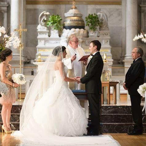 wedding ceremony and reception church catholic wedding timeline everafterguide