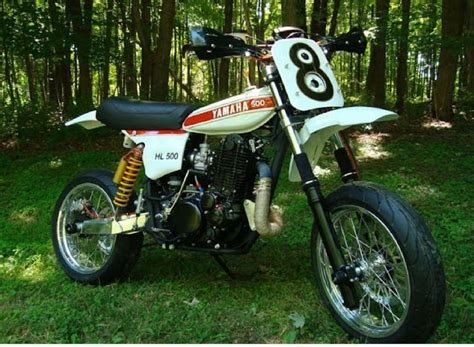 Mid-1970's Yamaha Hl500 Kit Racer, Converted To