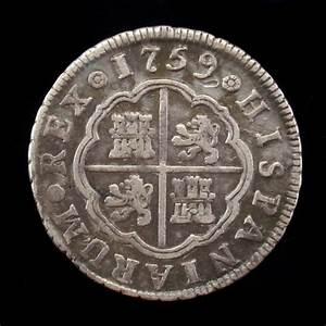Spain  2 Reales 1759  Madrid Mint