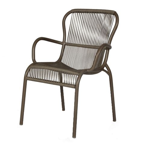 loop rope chair taupe vincent sheppard