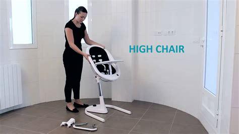 chaise transat chaise haute transat évolutive moon de mima