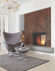 Wand Metallic Effekt : effekt wandfarbe in rostoptik alpina einrichten farbe ~ Michelbontemps.com Haus und Dekorationen