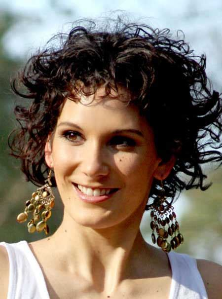 short trendy curly haircuts short hairstyles