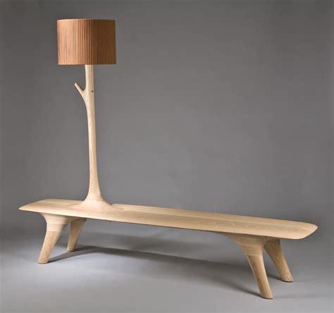 unusual indoor benches  unique wooden designs