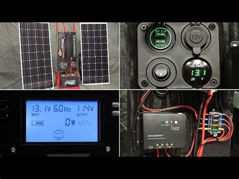 diy  grid solar generator rev   cost portable