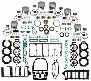 Yamaha Outboard 76 U00b0 V6 3 3l Hpdi 225-250 Hp Complete Powerhead Rebuild Kit