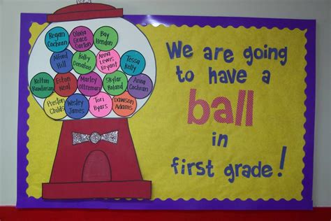 back to school bulletin boards amp classroom ideas archives 722 | Have A Ball BubbleGumBBI