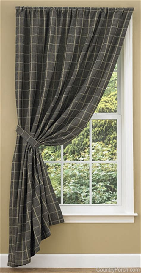 stonebridge lined single tieback curtain panel