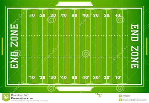 terrain de football de nfl illustration de vecteur