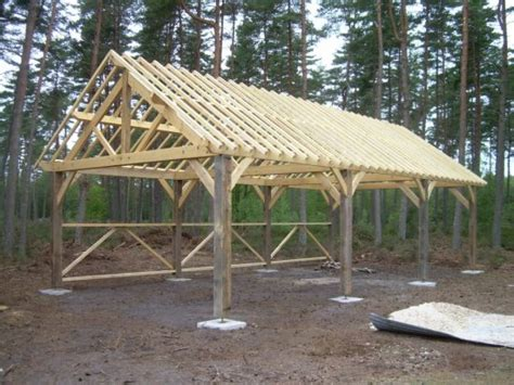toiture de hangar charpente bois hangar renapec