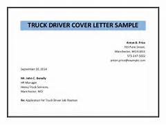 Search Results For Sample Professional Letter Calendar Truck Driver Cover Letter Sample Pdf Cover Letter Driver Cover Letter Sample Free Resume Truck Driver Resume Example Resume Format Download Pdf