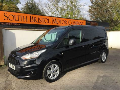 ford transit connect l2 2014 14 ford transit connect 1 6 tdci 115ps 240 l2 h1 limited 48k fsh black in somerset