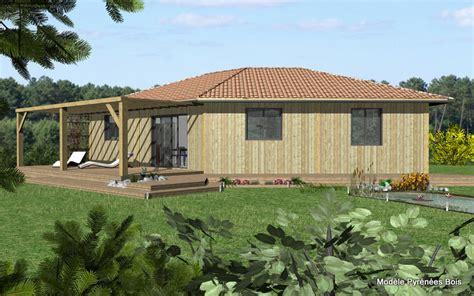 modele maison bois contemporaine kirafes