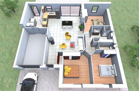 plan maison 90m2 3 chambres plan de maison mona nl 3 personnalisable