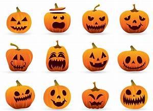 Tete De Citrouille Pour Halloween : citrouilles guirlande d halloween des mod les les p 39 tits saules ~ Melissatoandfro.com Idées de Décoration