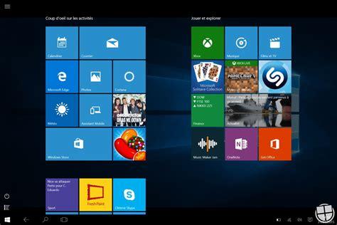 microsoft bureau à distance windows 10 analyse du nouveau quot mode tablette quot monwindows